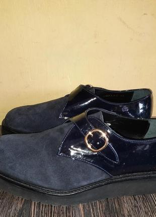 Оригинал новые кожаные туфли лоферы ymc ofaag made in portugal