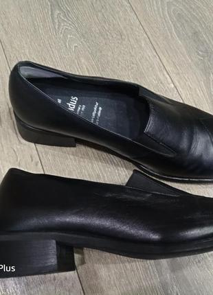 Комфортные кожаные туфли solidus