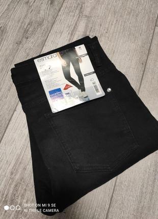 Черные стрейчевые джинсы скинни esmara евро 36, 38, 40, 42 s, m, l, xl