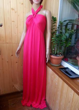 Бесплатная доставка!!!восхитительное длинное платье большого размера с биркой размер 50-22