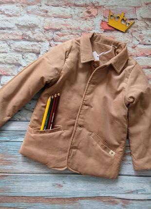 Куртка жакет  george из вельвета с утеплением