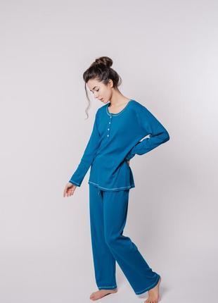 Домашняя пижама луна шикарного цвета океан