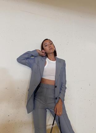 Пиджак , блейзер с накладными карманами na-kd