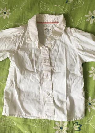 Рубашка детская на 68 см от h&m