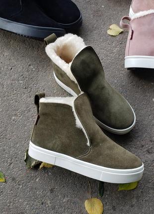 Розпродаж черевики замша р32-41 сліпони хайтопи ботинки замшевые хайтопы слипоны