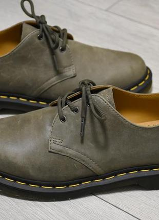 Новые туфли dr. martens 24543 оригинал размер 43-44 оригинальные ботинки полуботинки