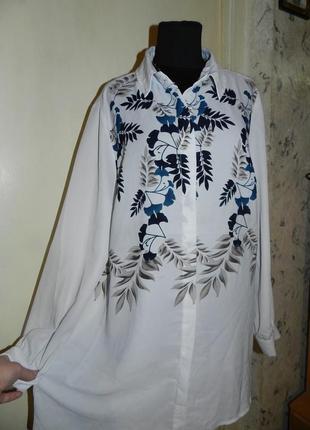 Чудесная блузка в цветочный принт,designers,германия