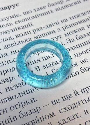 Колечко кольцо каблучка из эпоксидной смолы