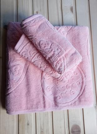 Cestepe lux vip cotton. набор турецких полотенец. полотенца. рушники.
