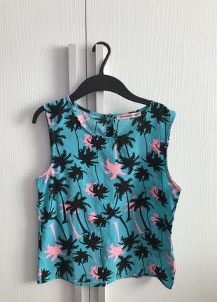 Рубашка с пальмами