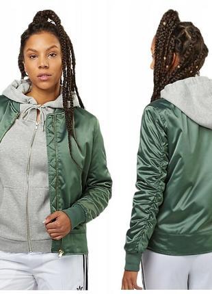 Женская куртка бомбер на синтепоне немецкого бренда flatbush  оригинал