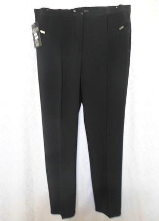 Новые женские брюки классика 58-60 р.черные