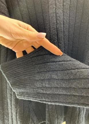 Объёмный свитер в широкий рубчик asos5 фото