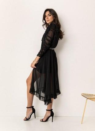 Платье комбинация