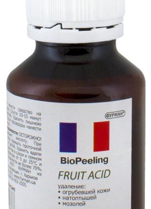 Биогель пилинг на фруктовой кислоте 60мл для маникюра и педикюра