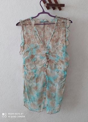 Шёлковая блуза от премиум бренда liu jo