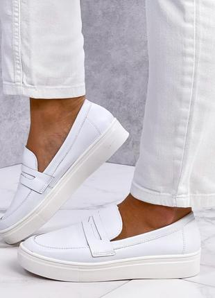 Идеальные удобные кожаные туфли лоферы слипоны эспандрилы