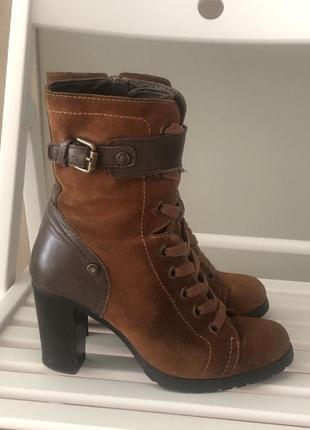 Замшевые ботинки geox 36 размер