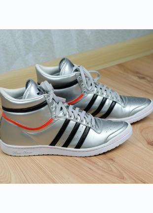 Кожаные кроссовки adidas top ten sleek оригинал 39-40р. 25,5 см.