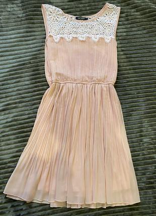 Красивое, нежное платье