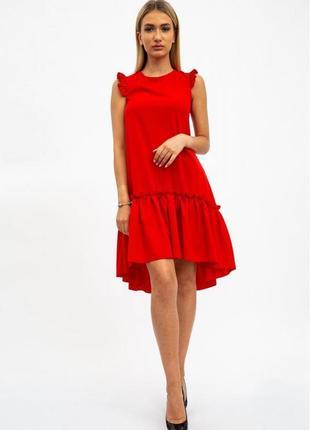 Сарафан, xs-s,  112r413,  платье, платьице с оборками, с рюшами, с воланом