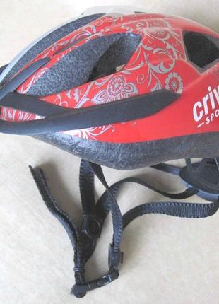 Вело шлем crivit, размер 49-54, женский