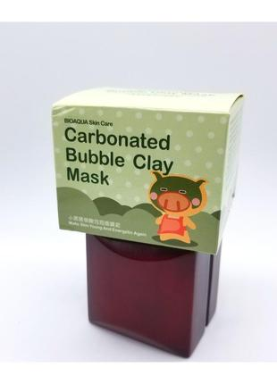 Маска тысячи пузырьков )carbonated bubble clay mask
