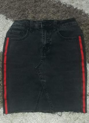 Юбка джинсовая missguided