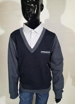 Реглан рубашка обманка