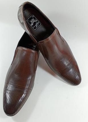 Классические туфли лето lido marinnozzi размеры:39,40,41,42,43,44