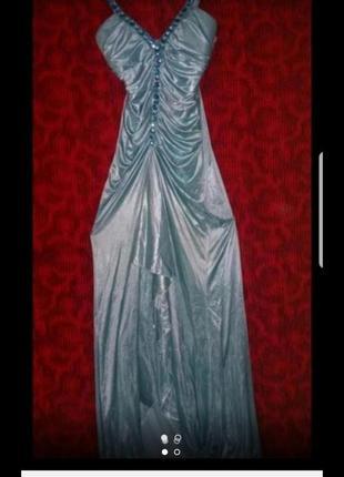 Вечернее платье в пол 40р