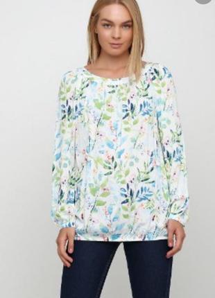 Удлинённая блуза 12097