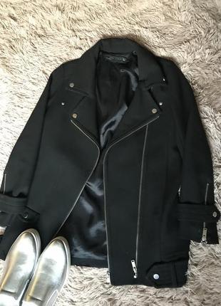 Пальто-косуха zara woman. размер s,m