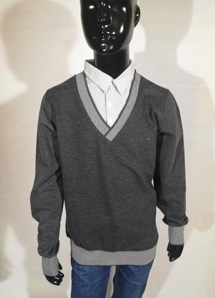 Джемпер рубашка - обманка