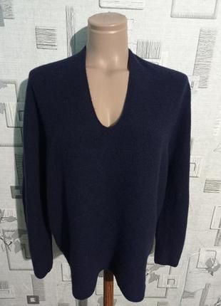 Шерстяной свитер пуловер джемпер uniqlo
