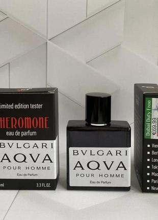 Pheromone bvlgari aqva pour homme (булгари аква пур хоум) 60 мл. духи