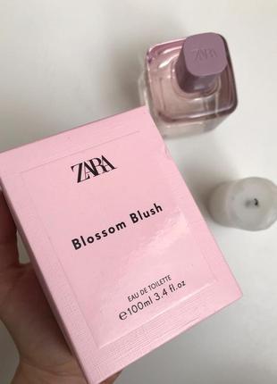 Парфуми zara blossom blush