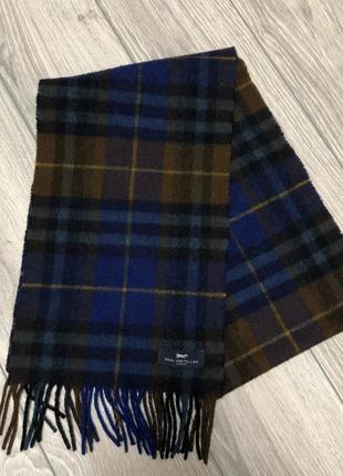 Шерстяной шарф paul costelloe london