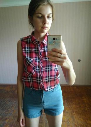 Рубашка с короткими рукавами от bershka