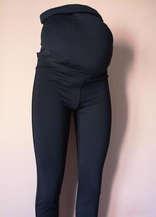 Лосины брюки для беременных не утепленные. лосіни для вагітних