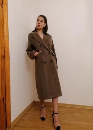 Пальто шерстяное4 фото