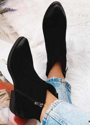 Демісезонні черевики-козаки