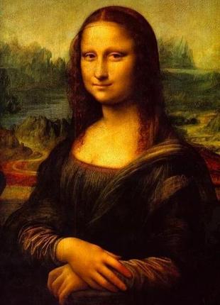 """Постер """"мона лиза"""""""