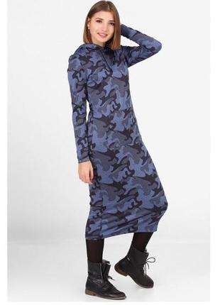 Синее платье stwr