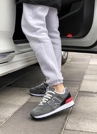 Шикарные женские зимние ботинки топ качество new balance 🥭❄️