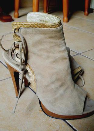Элегантные замшевые туфли epiffani