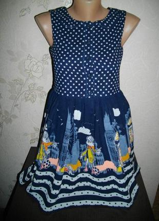 Платье * george* верх шифон, 10-11 лет.