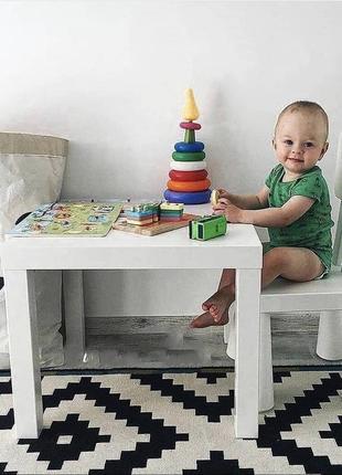 Новый комплект ikea  стол и стул