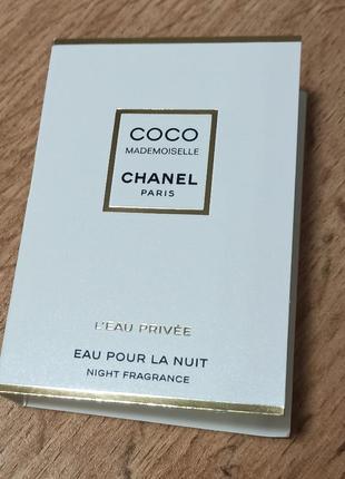 Chanel coco mademoiselle l'eau privée ароматическая вода