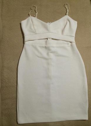 Белое платье asos